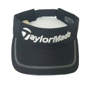 TaylorMade TMax Gear Black Golf Visor Adjustable
